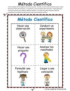 Scientific Process: Método Científico SPANISH                                                                                                                                                                                 Mais