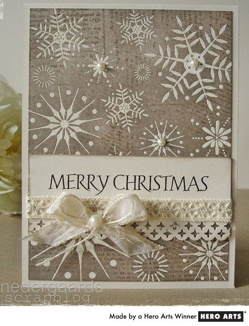Gorgeous Christmas card