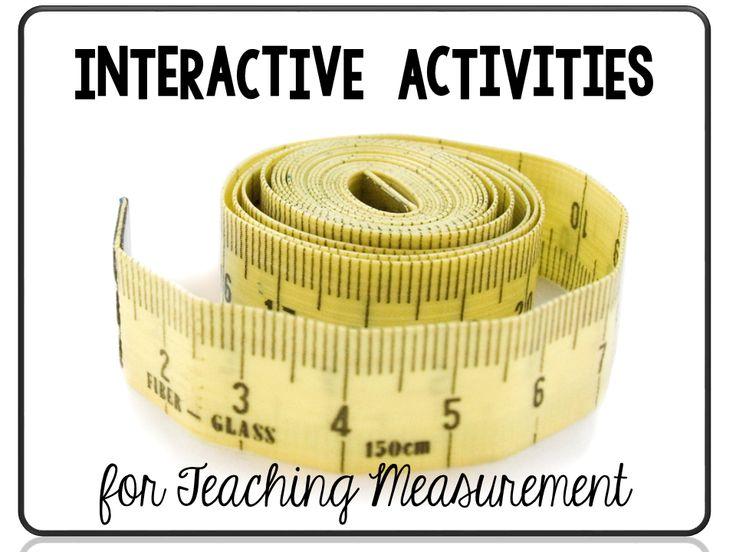 Interactive Activities for Teaching Measurement