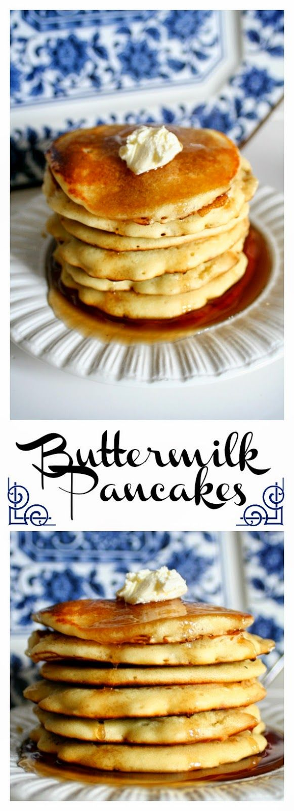 Buttermilk Pancakes – quick, easy, and so much better than box mix pancakes
