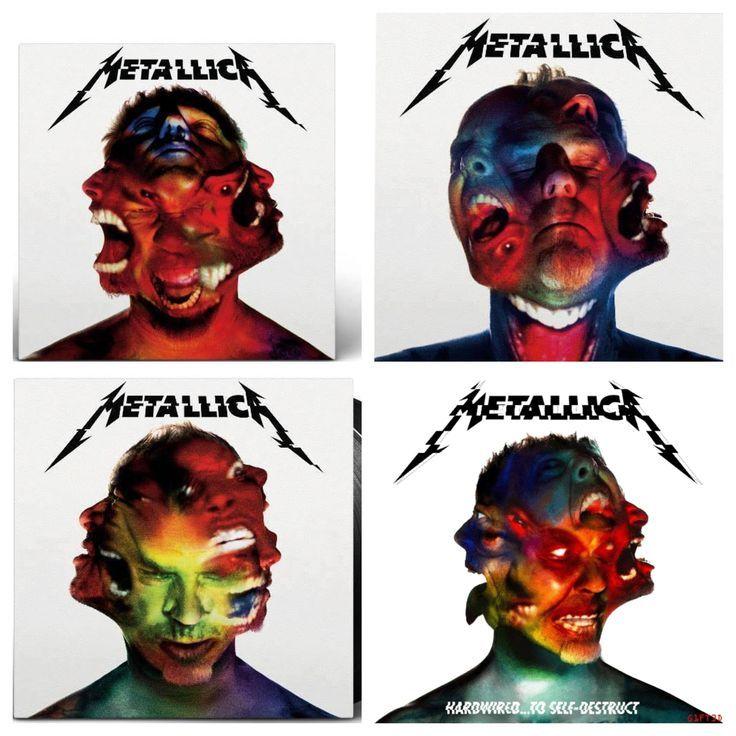 Metallica album covers