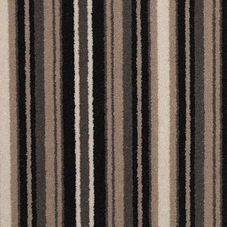 Stripy carpet for stairs and landing