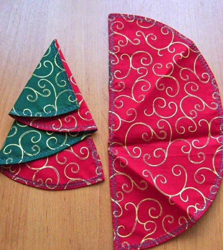 Servietten falten zu Weihnachten u2013 Ideen und Anleitungen - weihnachtsservietten falten