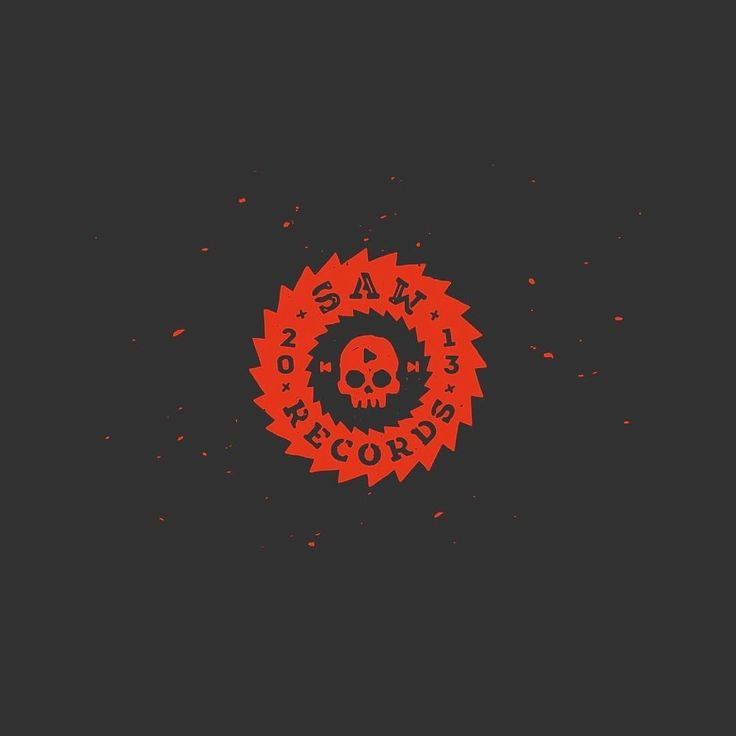 Saw Records (logo for recording studio) View the animation (анимация по ссылке) - www.dribbble.com/shots/2825123-Saw-Records Concept logo. For sale  #jkd #jkdesign #art #logo #logodesign #branding #idea #graphicdesign #logoinspirations #logoplace #design #instagood #followme #saw #skull #recordingstudio #logorecords #rock #music #логотип #искусство #череп #рок #музыка #студиязвукозаписи #пила #дизайн #креатив #графическийдизайн #лого