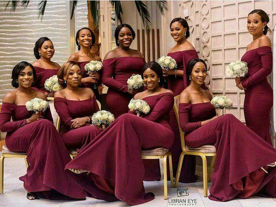 African Bridesmaid Dress African Bridal Dress Bridesmaid Dress