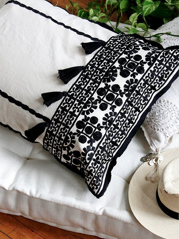 Free People Moroccan Embroidered Pillow Case , $150.00