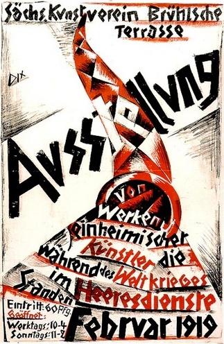 By Otto Dix (1891-1969), 1 9 1 9,  Art Exhibition.