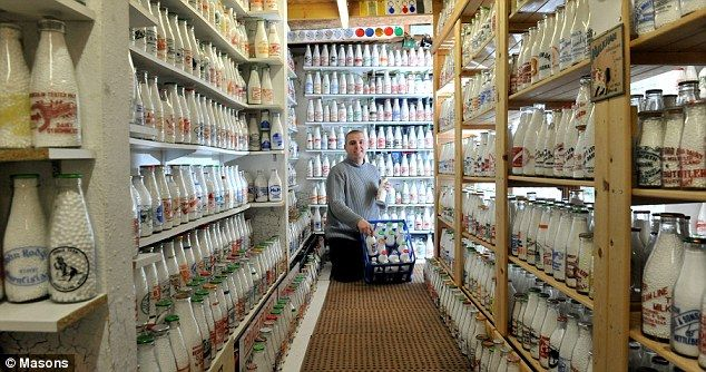 Milk bottle collection, Paul Luke, 11,000 and counting