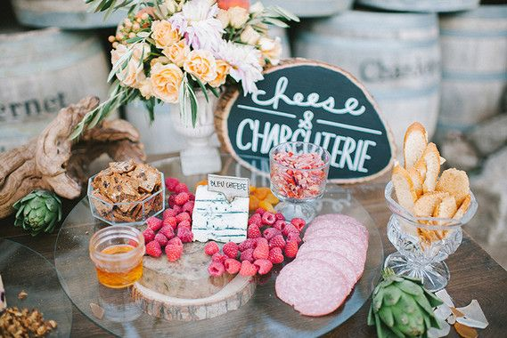 Cheese + Charcuterie + Olive Bar Station