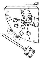 ХАРТИЕНИ ЖИВОТНИ И ПРЕДМЕТИ – шаблони за разпечатване | крокотак