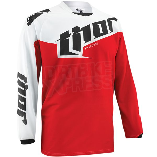 2015 Thor Phase Kids Jersey - Tilt Red