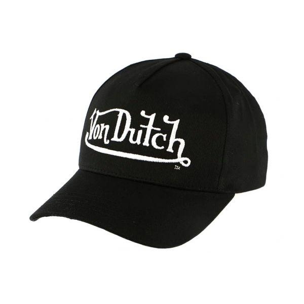 Casquette Baseball Noire John par Von Dutch  #mode #vintage #bonplan #vondutch sur votre boutique headwear Hatshowroom.com #startup