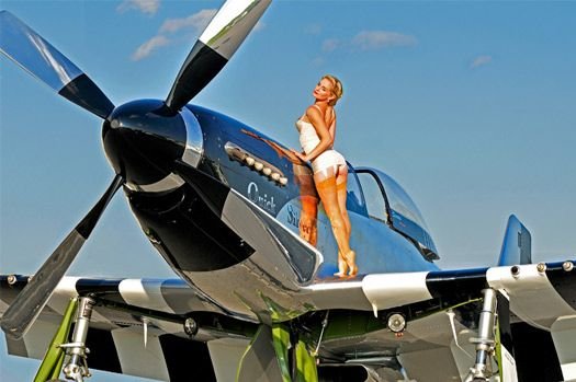 Aviation Gifts and Calendars, WWII Fighter Planes & Bombers with Beautiful Pin Up Girls