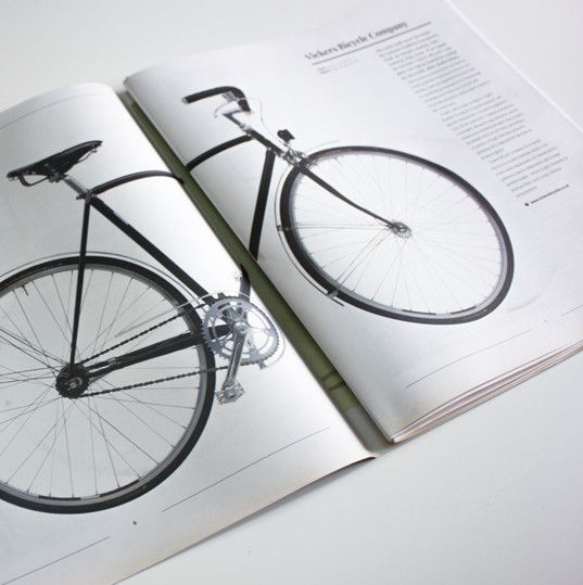 W 1. numerze Magazynu znalazło się wiele ciekawych tekstów i wywiadów m.in. artykuł o brytyjskiej firmie projektującej oryginalne rowery miejskie - Vickers Bicycle Company.
