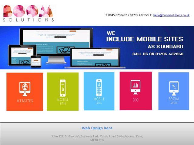 Web Design Kent offering ✓ Bespoke Websites Development ✓ eCommerce ✓ Mobile Sites Development ✓ Mobile Apps Development ✓ SEO ✓ Social Media. For more info - www.webdesignkent.co
