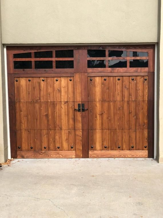 Customizable Cedar Garage Door Wooden Garage Doors Wood Garage Doors Garage Door Design