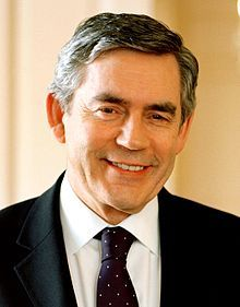 Gordon Brown, British politician and former Prime Minister. (University of Edinburgh)