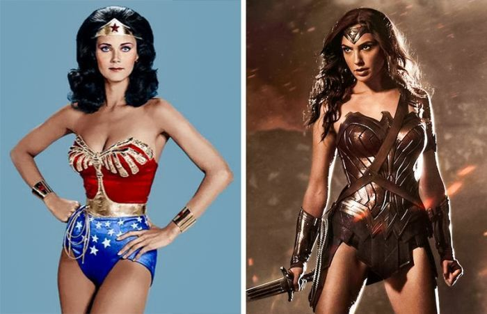 18 Movie Superheroes Then vs Now