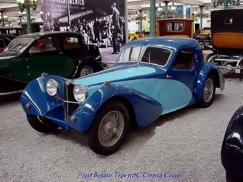 Bugatti Type 975 Corsica Coupe 1938