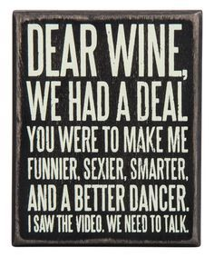 wine signs