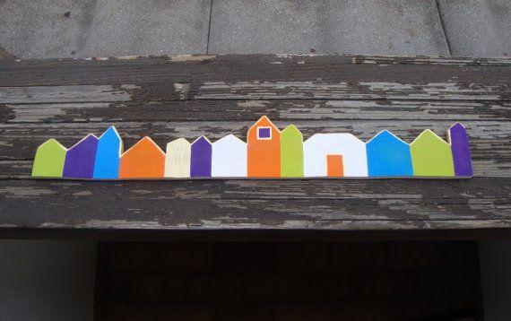 Villaggio casette in miniatura di legno di bois et di BoisetRois