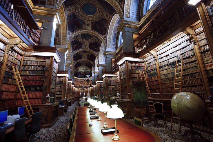 IlPost - Bibliothèque nationale de France, Francia - Bibliothèque nationale de France, Parigi, Francia (FRANCOIS GUILLOT/AFP/Getty Images)
