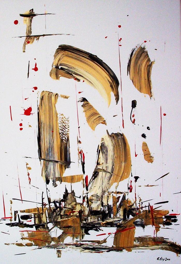La battaglia di Sirte - acrilici su tavola 50x70