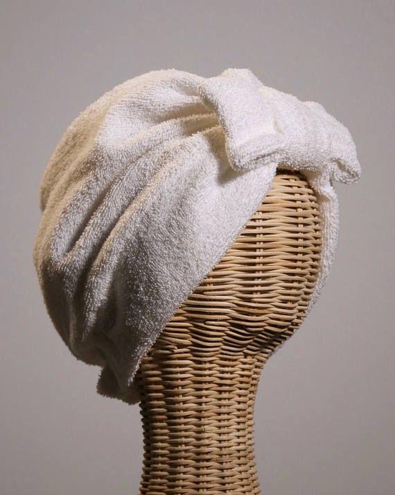 Bandalina Bath Turban White