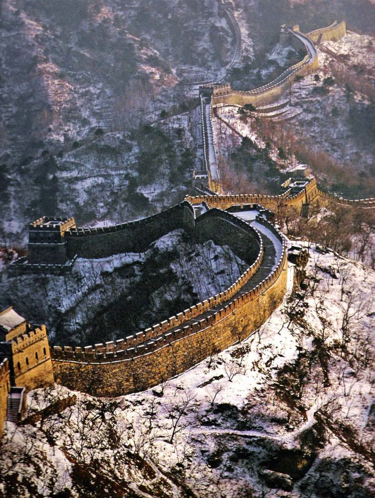 Great Wall of China..Looks cool in the snow!