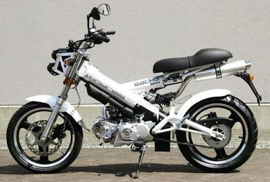 ドイツ名門ザックスバイク125ccMADASS125