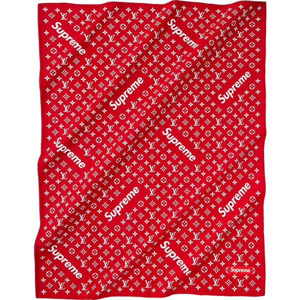 Supreme Louis Vuitton/Supreme Monogram Blanket ❤ liked on Polyvore featuring home, bed & bath, bedding, blankets, louis vuitton, monogrammed bedding, monogrammed bed linens, louis vuitton bedding and monogrammed blankets