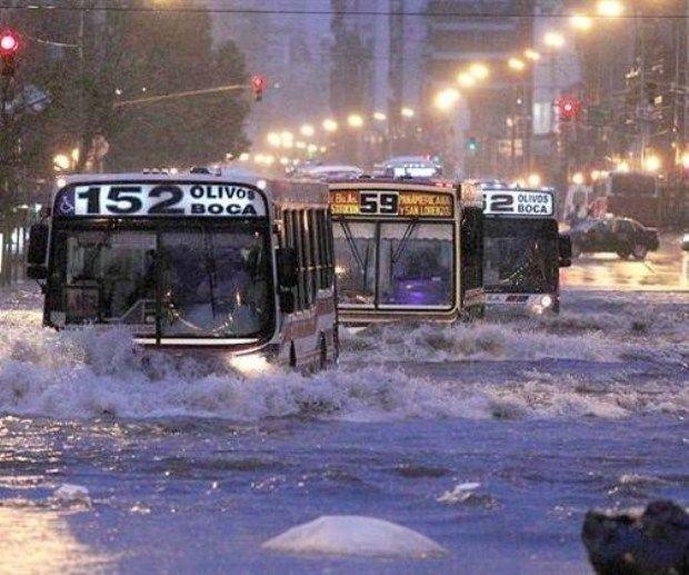 Neuquén (sudoeste), Catamarca (noroeste), Santiago del Estero (centro) y Córdoba (centro) - Inundación