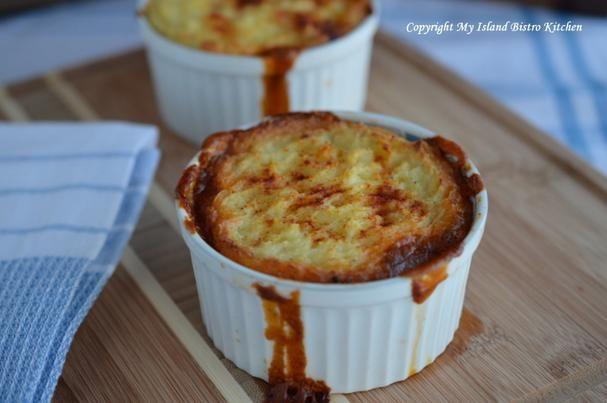My Island Bistro Kitchen's Cottage Pie  - Foodista.com