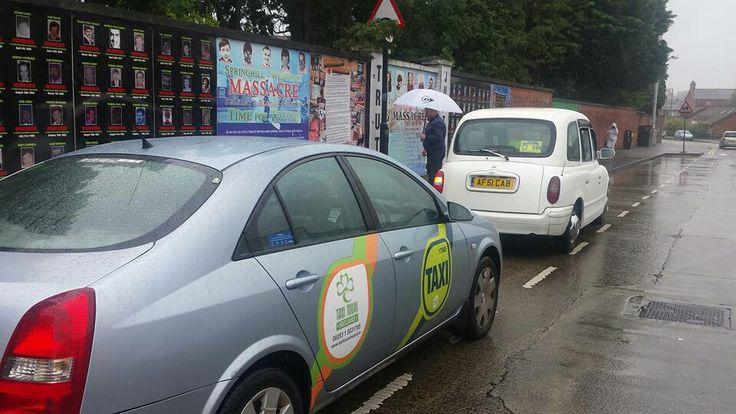 Belfast Falls Road Republican tour.