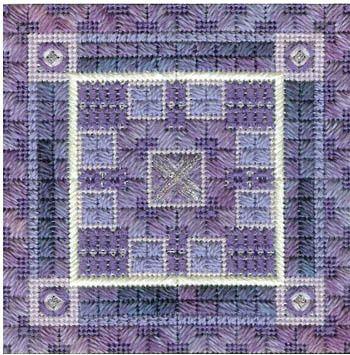 Color Delights - Violet - Needlepoint Pattern
