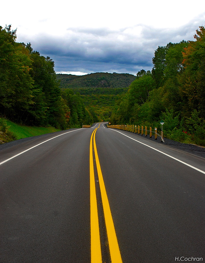 Trans Canada Highway that leads to my