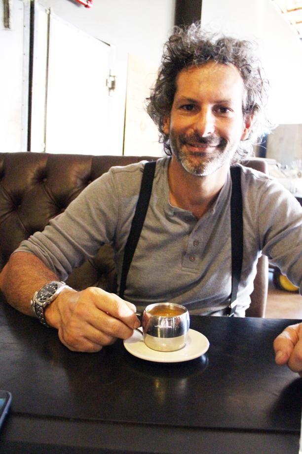 David Donde, stigter van Truth Coffee in Kaapstad.