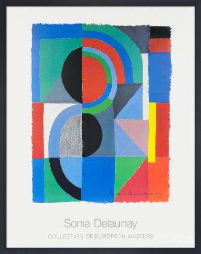 Viertel, 1968 Art Print by Sonia Delaunay | King & McGaw