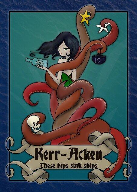 Happy Birthday Kerr-Acken! Digital artwork.