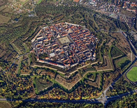 Neuf-Brisach: Vauban's fortifications