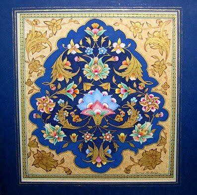 mughal ornamentation