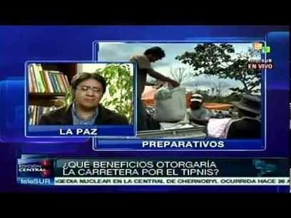 #Bolivia: la #carretera en el #TIPNIS - investigador