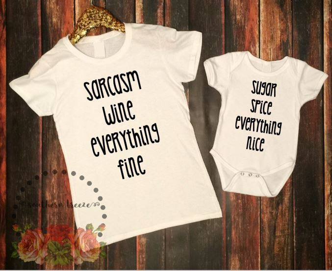 Mommy and Me Shirts, Mommy & Me Shirts, Mommy and Me Tshirt, Baby Girl, Matching Shirts, Matching Set, Mother Daughter, Baby Shower, Wine by SouthernBreezeNC on Etsy https://www.etsy.com/listing/258526962/mommy-and-me-shirts-mommy-me-shirts