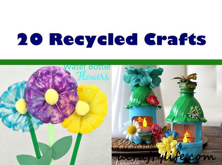 Verwenden Sie recycelte Materialien, um dieses lustige recycelte Kinderhandwerk zu kreieren. Unterrichten Sie Kinder über …   – Projects to try