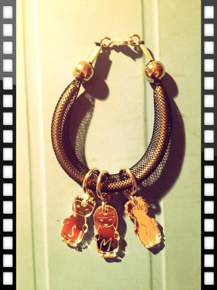 Bracelet by INSIDE DESIGN ( Plexiglass )