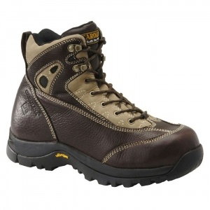 Mens Carolina Met Guard Hiking Boots Brown Leather - ONLY $169.99