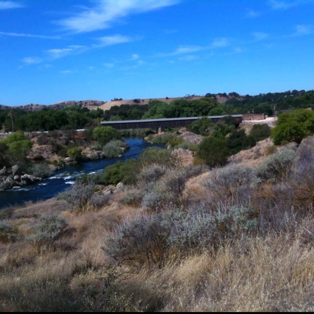 Knight's Ferry Covered Bridge  Oakdale, CA