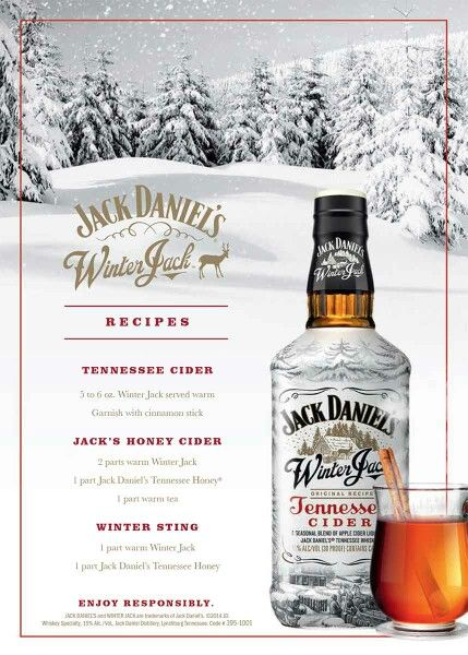 Winter Jack and Jack Daniel's Tennessee Honey