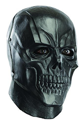 Rubies Costume Mens Arkham City Adult Deluxe Overhead Latex Black Mask Multi One Size @ niftywarehouse.com #NiftyWarehouse #Batman #DC #Comics #ComicBooks