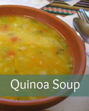 The Incas really knew what they were doing when it came to nutrition.  Quinoa (or quinua) was a major part of their diet, second only to the potato.  They held it sacred, and called it the 'mother ...